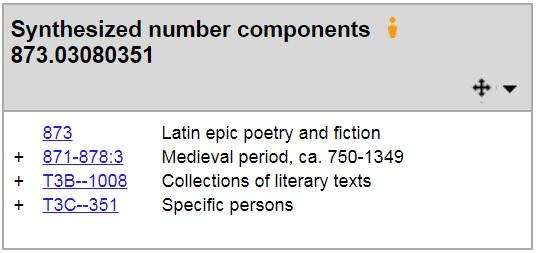 025.431: The Dewey blog: Latin literature and classical Greek literature